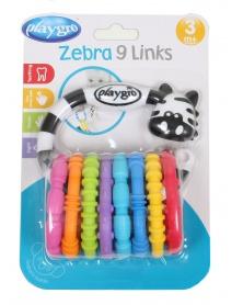 Playgro - Zebra s kroužky nová | learningtoys.cz