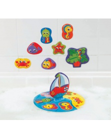 Playgro - Plovoucí puzzle do vany   learningtoys.cz