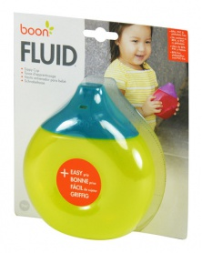 Boon - FLUID - Anatomický netekoucí hrneček - modro-zelený | learningtoys.cz