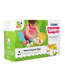 TOOMIES - Zábavná pískací vajíčka  | learningtoys.cz