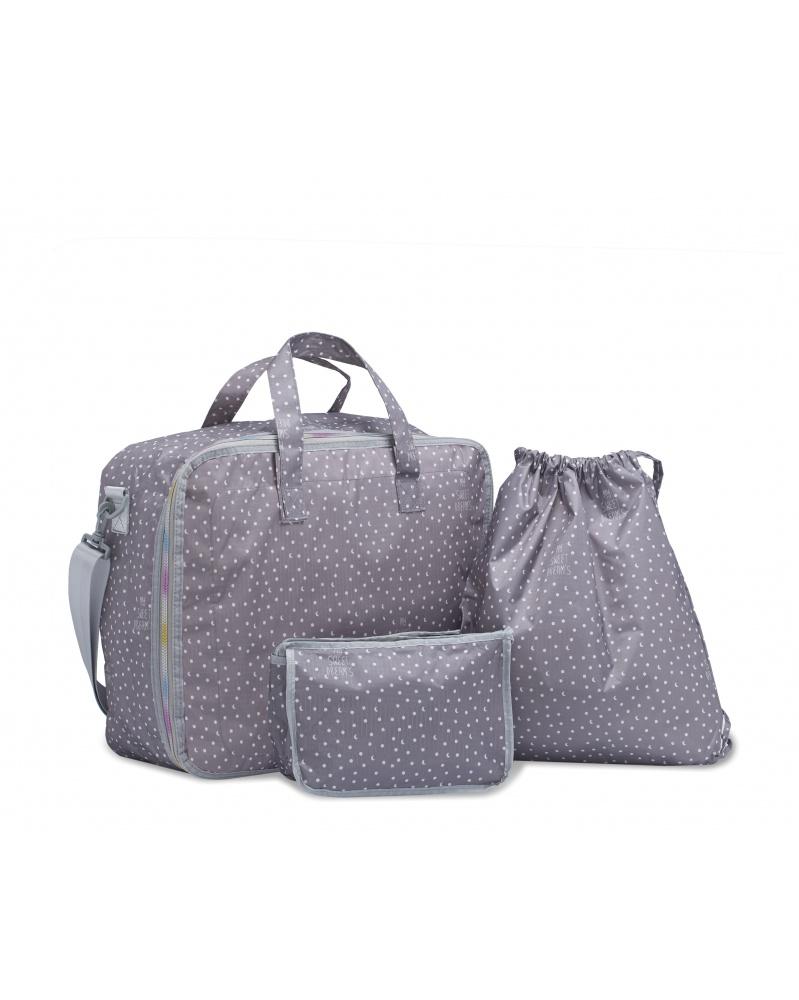 My Bags - Cestovní set 3 v 1 Sweet Dreams Grey   learningtoys.cz