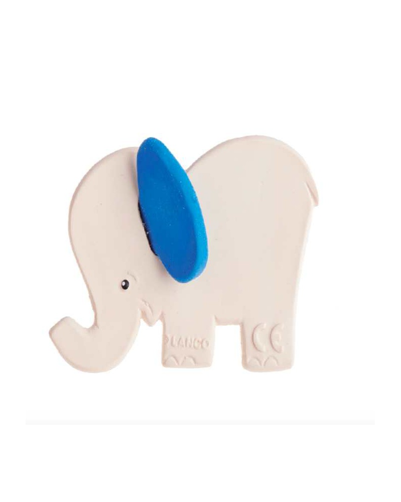 Lanco - Kousátko slon s modrýma ušima | learningtoys.cz