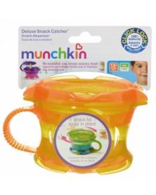Munchkin - Svačinový hrneček Click Lock - Oranžová | learningtoys.cz