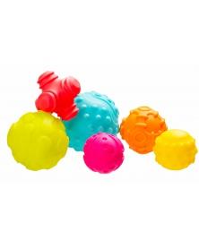 Playgro - Strukturované míčky pro rozvoj motoriky | learningtoys.cz