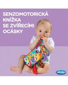 Playgro - Textilní knížka se zvířecími ocásky   learningtoys.cz