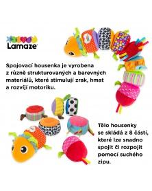 Lamaze - Spojovací housenka | learningtoys.cz