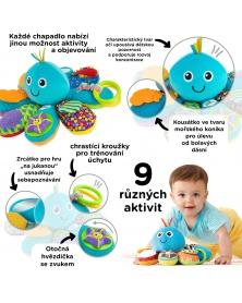 Lamaze - Všetečná chobotnice | learningtoys.cz