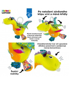Lamaze - Flip Flap Dráček | learningtoys.cz