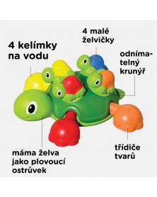 TOOMIES - Vodní želva s želvičkami   learningtoys.cz