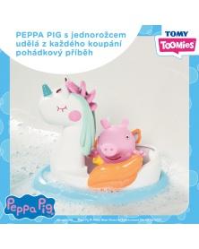TOOMIES - Prasátko Peppa Pig s jednorožcem   learningtoys.cz
