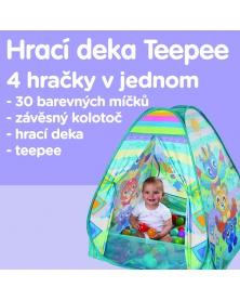 Playgro - Hrací deka Teepee   learningtoys.cz