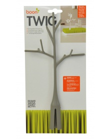 Boon - TWIG - Odkapávač stromek šedý | learningtoys.cz