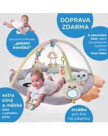 Playgro - Luxusní hrací deka Tučňák | learningtoys.cz
