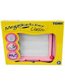 Megasketcher - Magnetická kreslící tabule růžová | learningtoys.cz