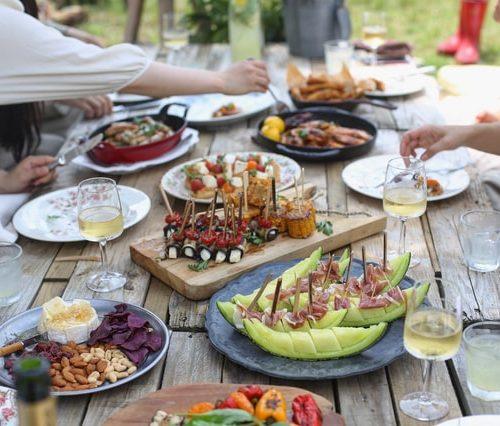 Zahradní párty nejen s dětmi plus recepty