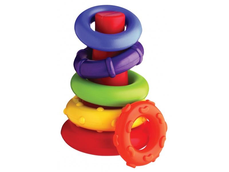 Playgro - Plastové navlékací kroužky