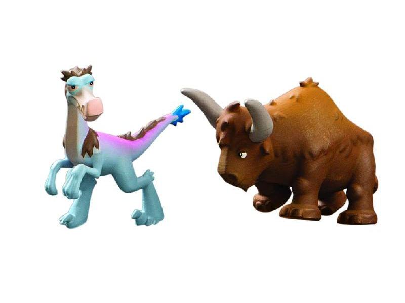 Hodný Dinosaurus - Bisodon & Bubbha - plastové minifigurky 2ks