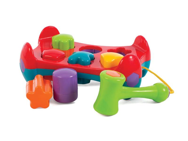 Playgro - Zatloukačka s tvary
