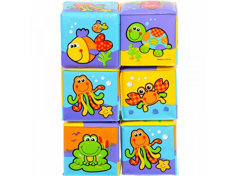 Playgro - Měkké pěnové kostky