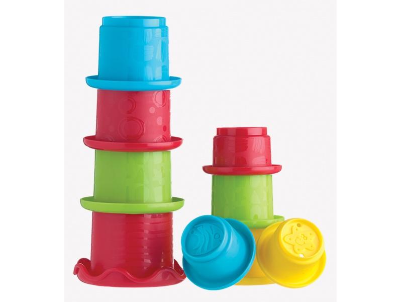 Playgro - Skládací kalíšky