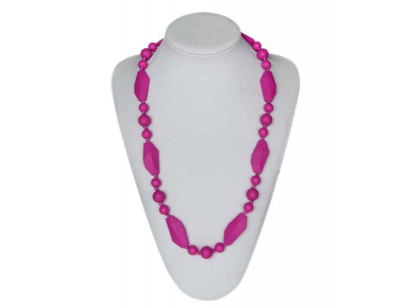MIMIKOI - Kojící korále hravé tvary fialové